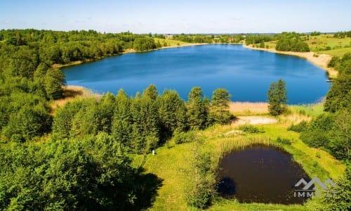 Fantastiška sodyba šalia ežero