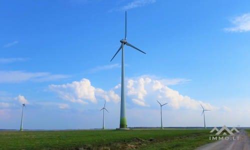 Grundstück für Windenergie