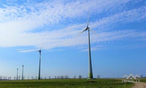 Žemės sklypas vėjo elektrinėms
