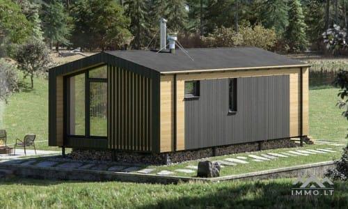 Kompaktiškas naujas namas