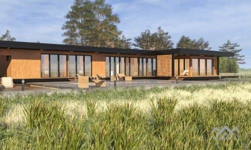 Išskirtinis modulinis namas