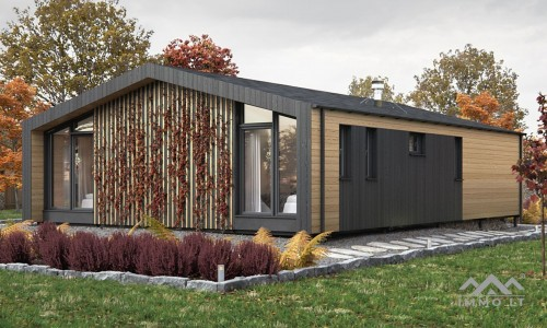 Puikus modulinis namas