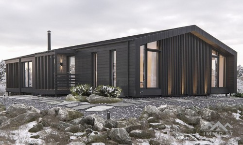 Naujas modulinis namas
