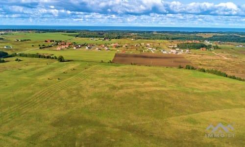 Baugrund in der Nähe von Ostsee