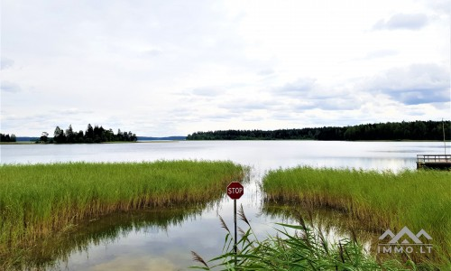 Sodyba netoli Platelių ežero