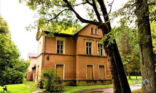 Plater's Landsitz in Šateikiai