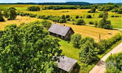 Bauernhof in Samogitien