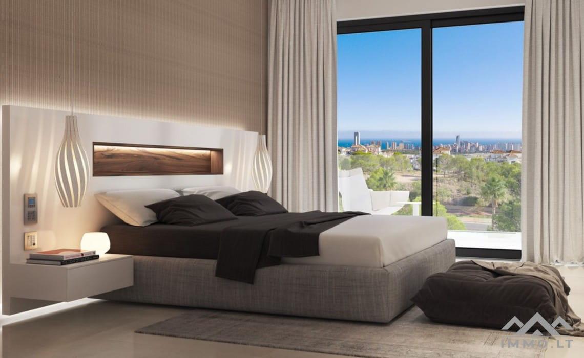 Luxury class 3-bed villa