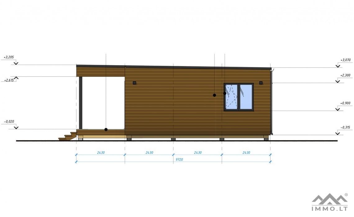 Naujas namas CUBEHOUSE