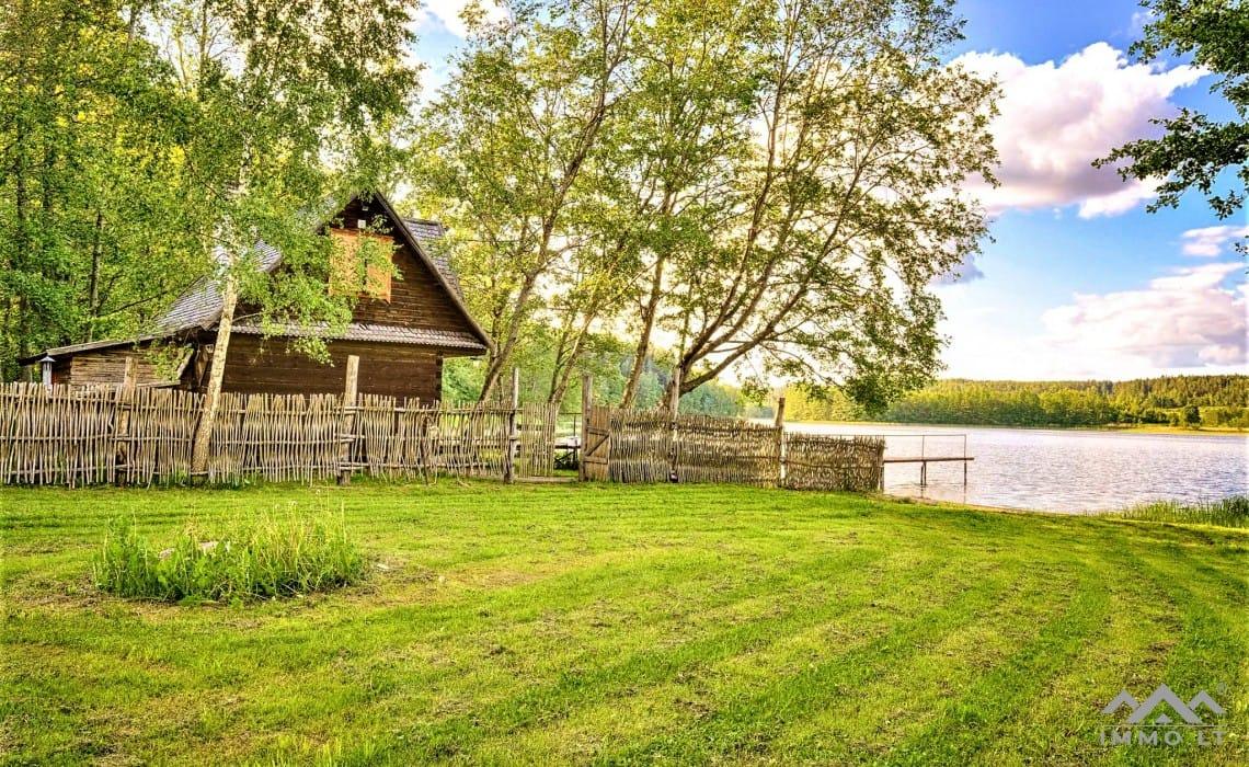Gehöft im Bezirk Ignalina